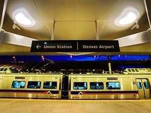 vervoer vliegveld denver